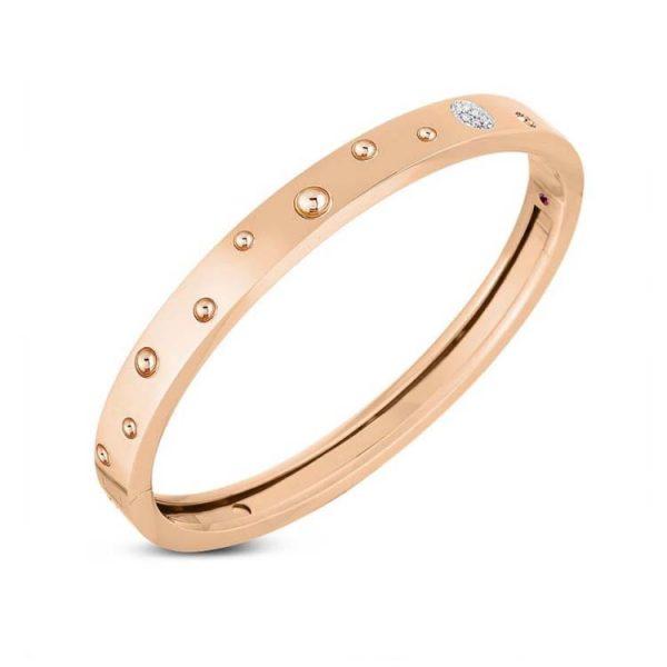 Pois Moi Luna Bangle Bracelet with Diamonds
