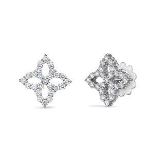Diamond Princess Earrings with Diamonds