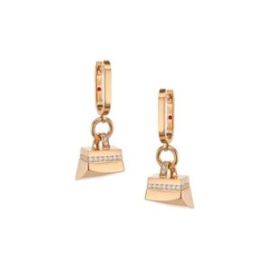 Roberto Coin Sauvage Prive Earrings Diamonds