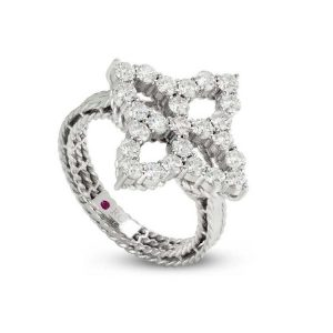 Diamond Princess Ring with Diamonds