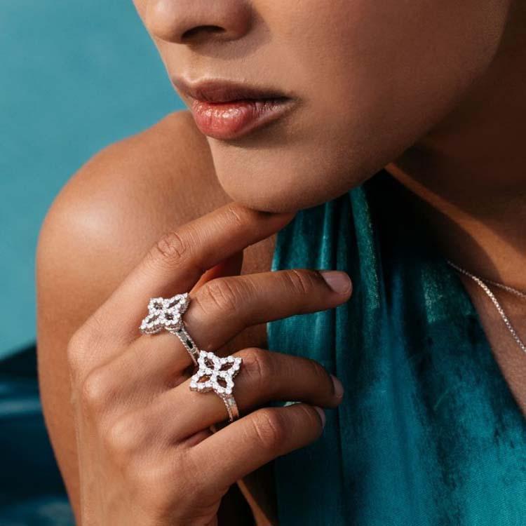 Diamond Princess Ring with Diamonds