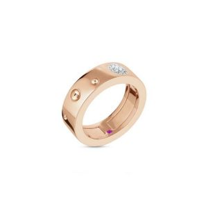 Pois Moi Luna Ring with Diamonds