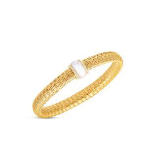 Primavera Flexible Bracelet with Diamonds