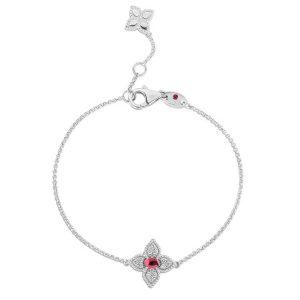 Princess Flower Bracelet with Diamond