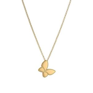 Gold Treasures Princess Butterfly Necklace
