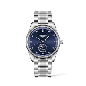 Longines Master Collection Blue Dial Moonphase 40mm