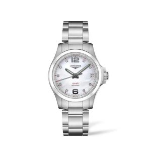 Conquest V.H.P. Stainless Steel/Ceramic 36mm