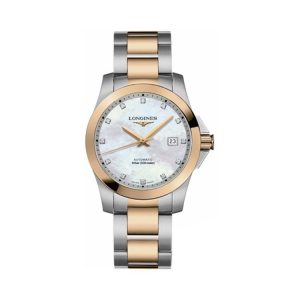 Conquest Mother of Pearl Diamond 39mm