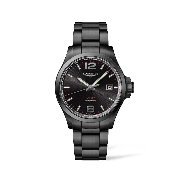 The Longines Conquest V.H.P. Black Dial 43mm