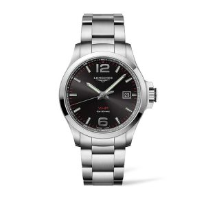 The Longines Conquest V.H.P Black Dial 43mm
