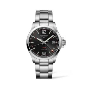 Conquest V.H.P. GMT Stainless Steel 43mm