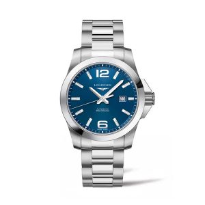 Conquest Blue Dial Automatic 43mm