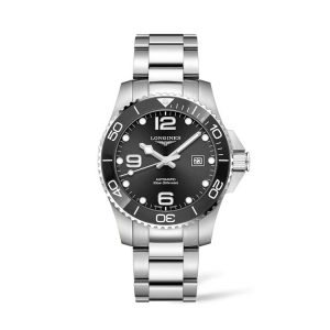 HydroConquest Ceramic Automatic Diving Watch 43mm