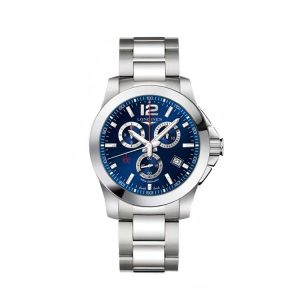 Conquest Blue Dial 44mm
