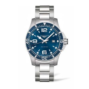 HydroConquest Blue Dial Diving Watch 44mm