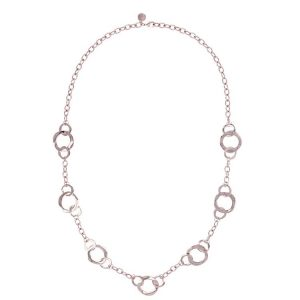 Bronzallure Purezza Linked Circle Necklace