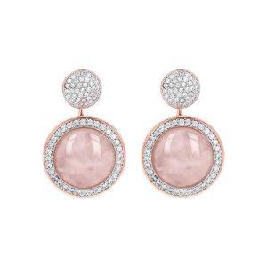 Preziosa Milanese Drop Stone Earrings