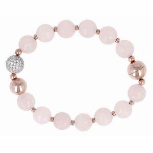 Bronzallure Preziosa Gemstone Bead Bracelet