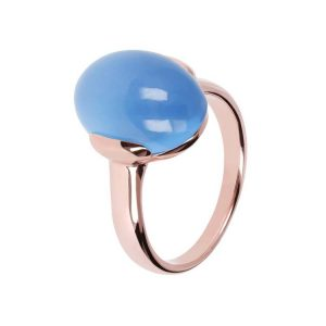Bronzallure Alba Simple Oval Ring