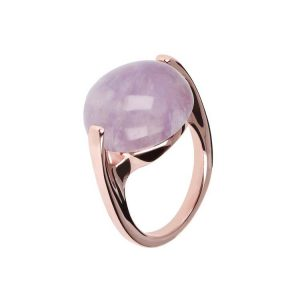 Bronzallure Alba Cabochon Ring Natural Gem