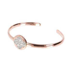 Bronzallure Altissima Drop of Light Bangle