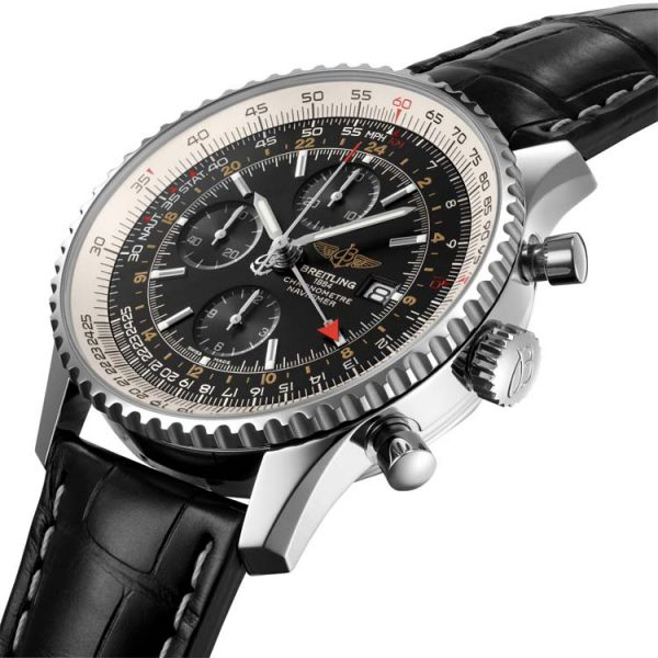 Michalis Diamond - Navitimer Chronograph GMT 46mm