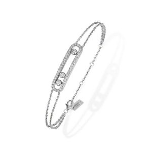 Messika Move Classic Pave Bracelet with Diamond