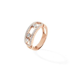 Messika Move Classique Pave Ring