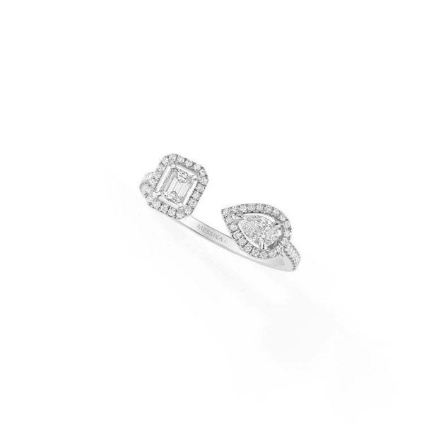 Messika My Twin Toi & Moi Ring with Diamond