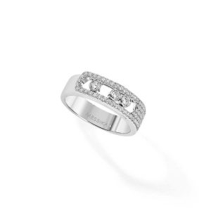 Messika Move Noa Pave Ring with Diamond