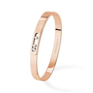 Messika Move Noa Bangle Bracelet with Diamonds