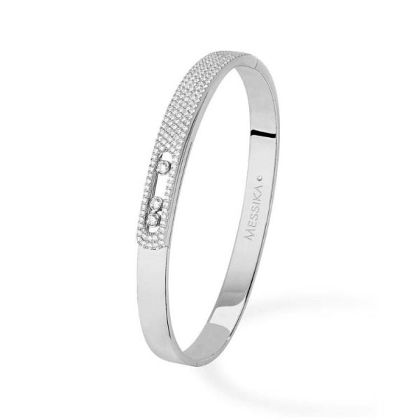 Messika Move Noa Pave Bangle Bracelet