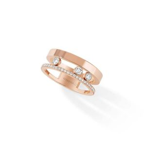 Messika Move Romane Ring with Diamond
