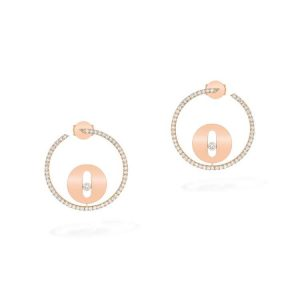 Messika Creoles Lucky Move PM Earrings