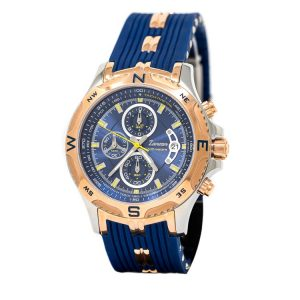 Zancan Superkompass Men's Chronograph Watch with Calendar 45mm