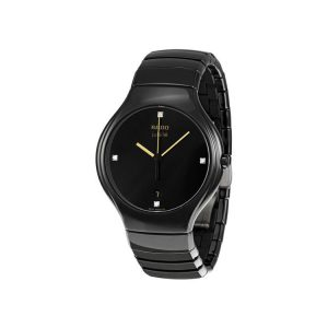 Rado True Jubile Black Ceramic Watch 38mm