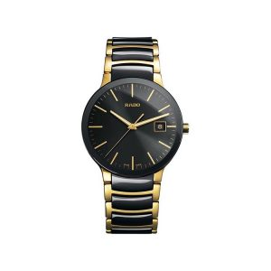 Rado Centrix Black Ceramic Men's Watch 38mm