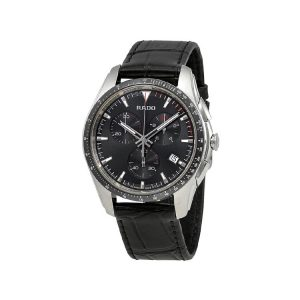 Rado Hyperchrome Chronograph Black Dial Men's Watch 45mm