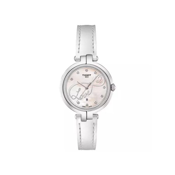 Tissot Women's Flamingo Valentines Quartz Leather Watch 26mm