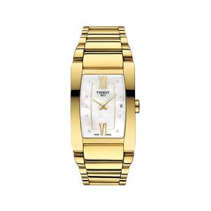 Tissot Generosi-T Mother of Pearl Dial Ladies Watch 27mm