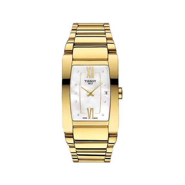 Tissot Generosi-T Mother of Pearl Dial Ladies Watch 27mm