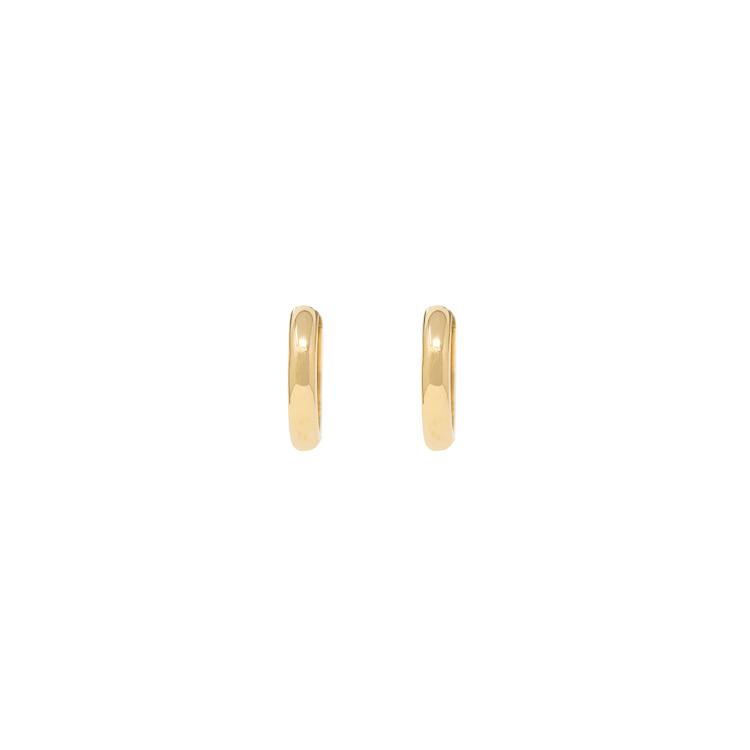 White & Yellow Gold 9kt Earrings