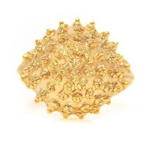 Handmade Ring in Yellow Gold 9kt