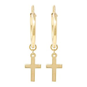Yellow Gold 9kt Earrings.