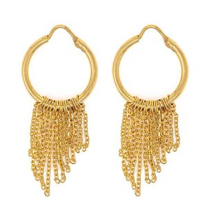 Handmade Yellow Gold 9kt Earrings