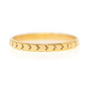 Handmade Yellow Gold 9kt Ring