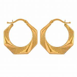 Yellow Gold 9kt Earrings