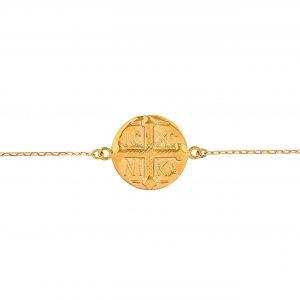 Bracelet in Yellow Gold 9kt.
