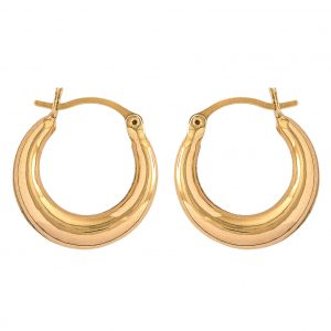 Earrings in Yellow Gold 9kt