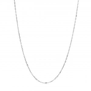 White Gold 9kt Chain